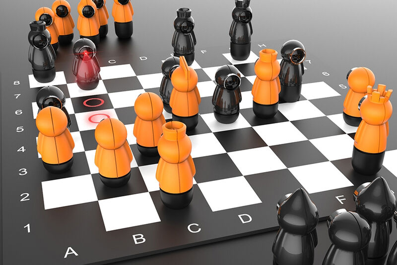 Educational Projection Chessboards