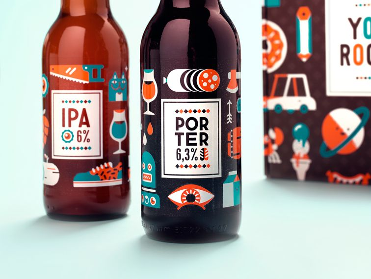 Craft Beer Label Collection