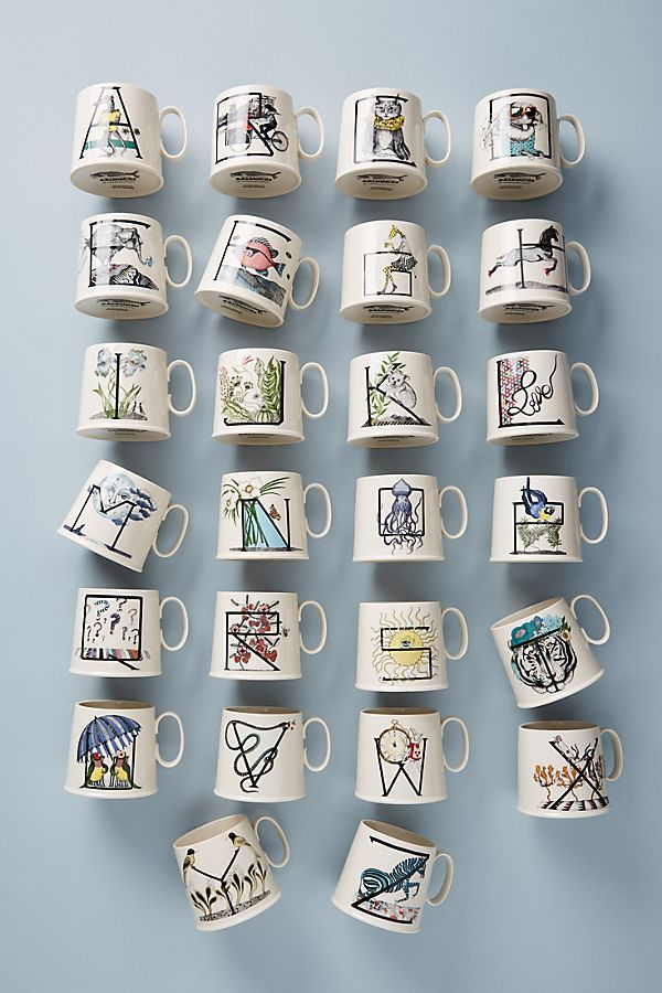 Literature-Inspired Dishware