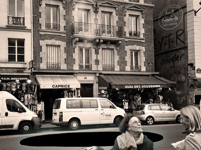 Illustrated Paris GIFs