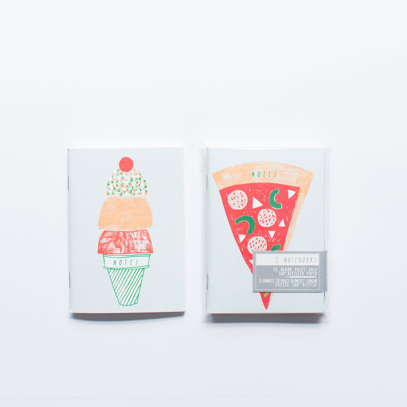 Illustrated Pocket Notebooks