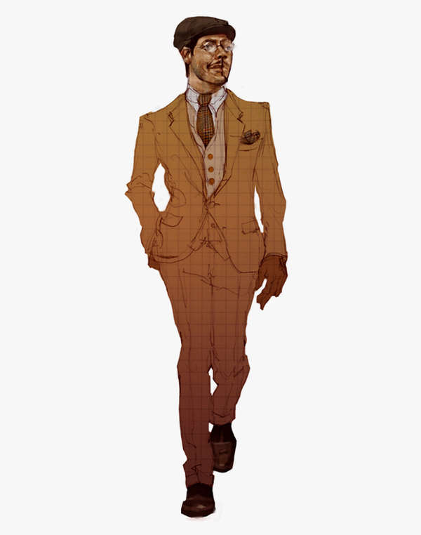 Fashionably Illustrated TV Characters