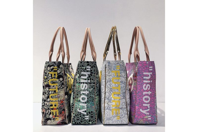 High-End Illustrated Tote Bags