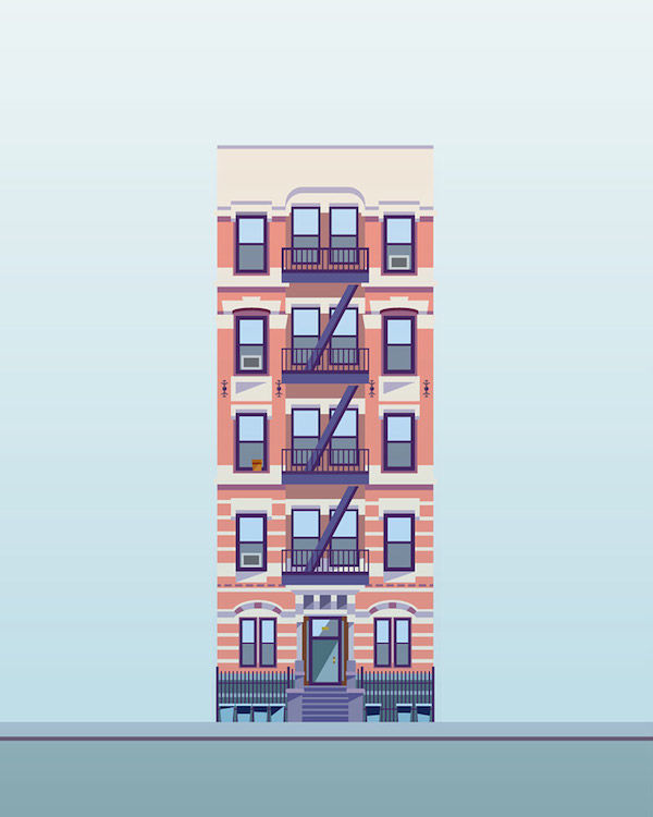Whimsical Building Illustrations