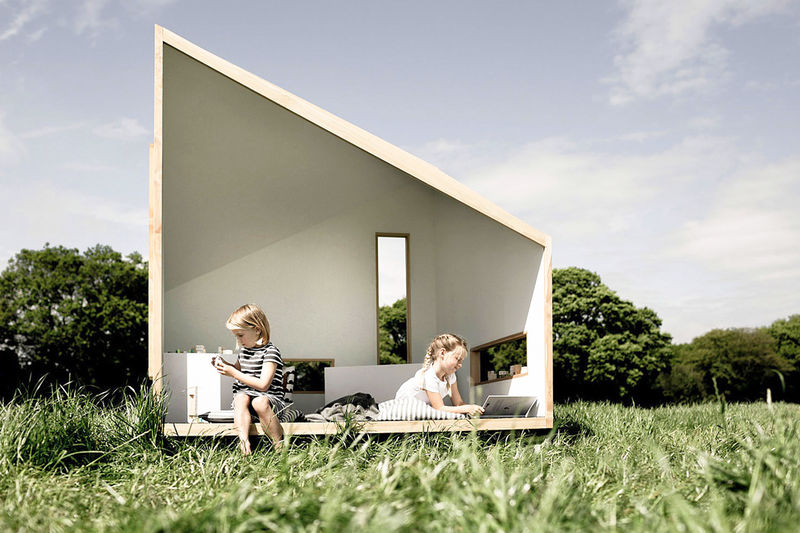 Sustainable Flat-Packed Playhouses