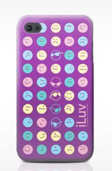Emoticon iPhone Cases