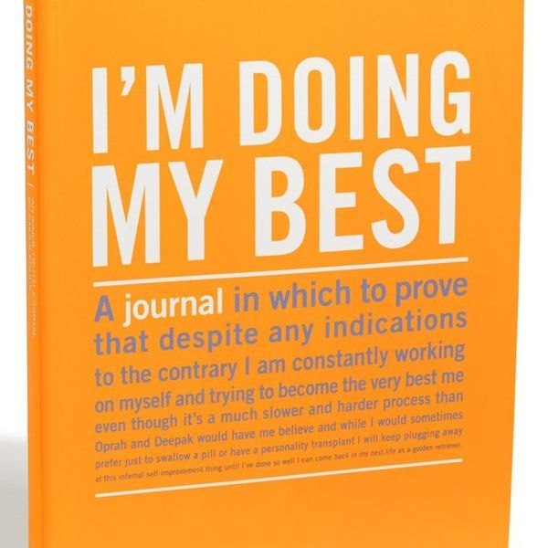 Honest Self-Improvement Journals
