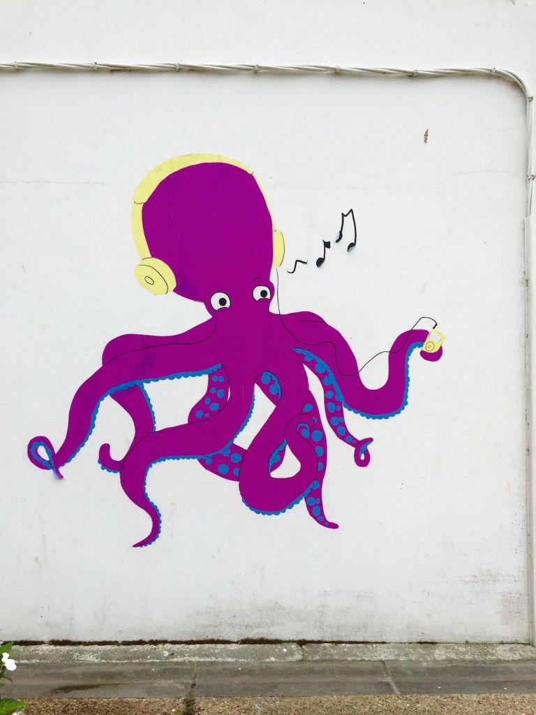 Sea Creature Street Art