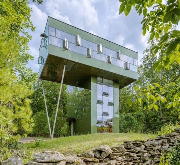 Nifty Nature-Hanging Homes