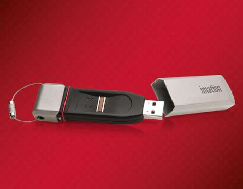 Finger-Swiping Flash Drives
