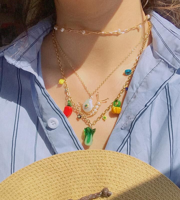 Playful Produce-Inspired Jewelry