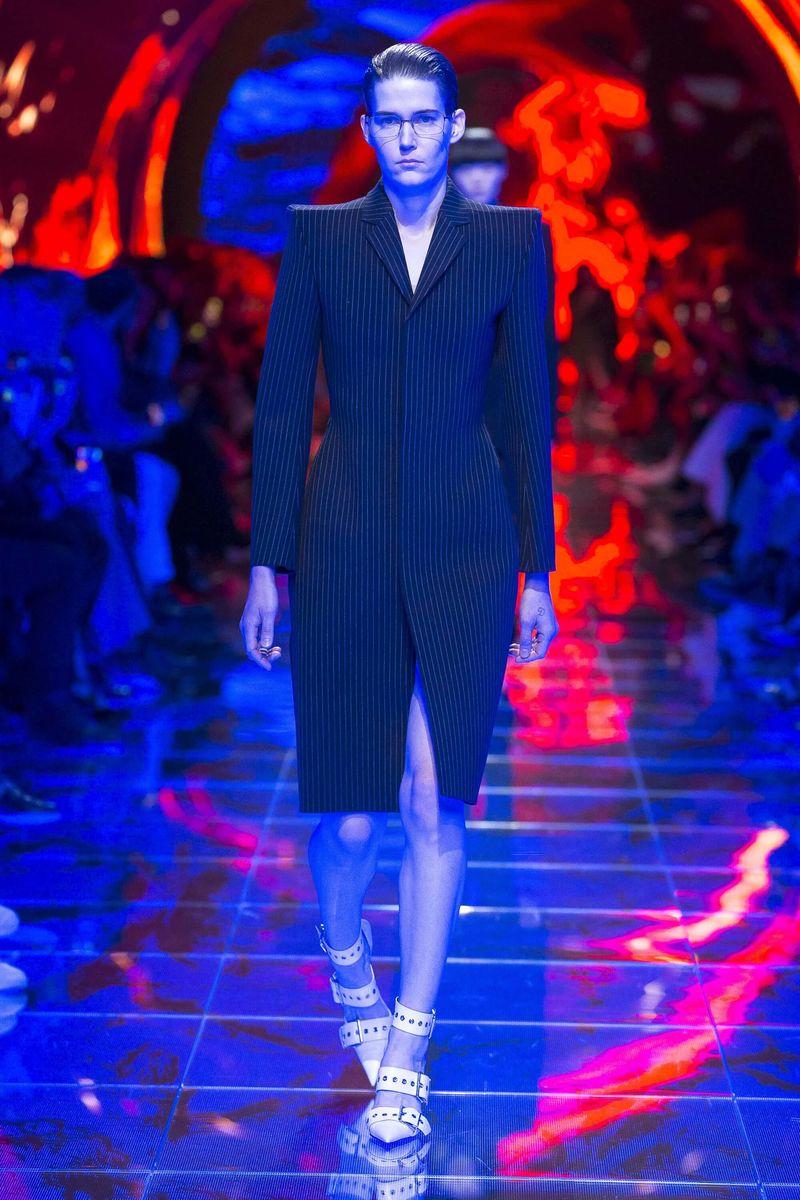 Hyper-Futuristic Fashion Runways