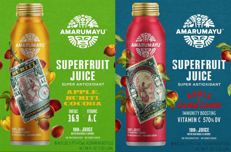 Amazonian Superfruit Juices
