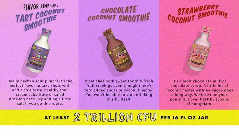 Creamy Probiotic Smoothies