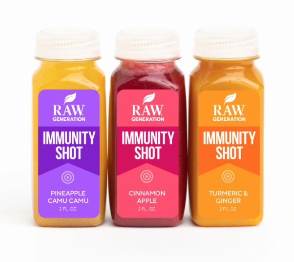 Immunity-Boosting Juice Shots