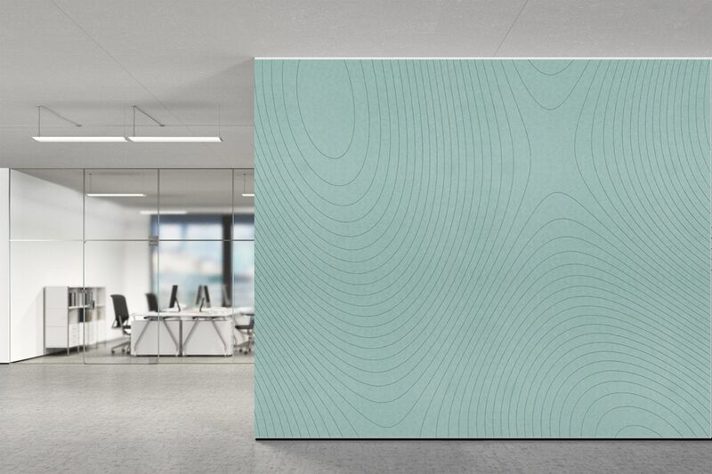 Sinuously Patterned Acoustic Panels