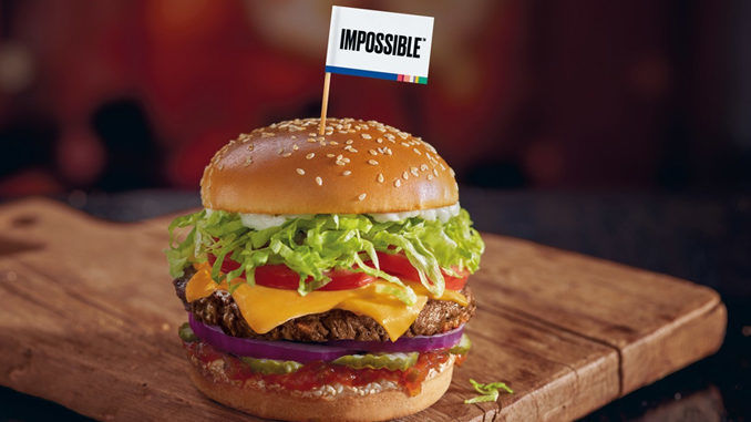 Cheesy Meat-Free QSR Burgers