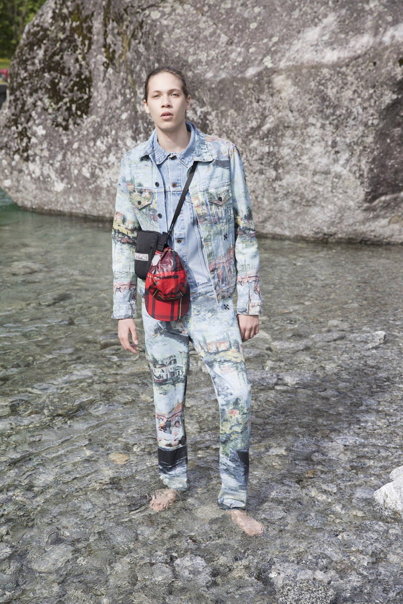 Paint-Accented Streetwear