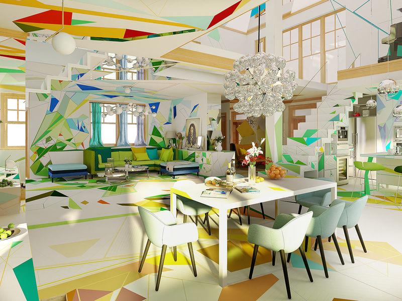Engaging Impressionist Home Interiors