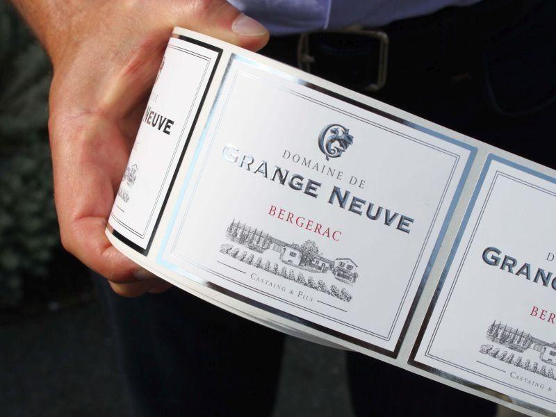 Waterless Wine Labels