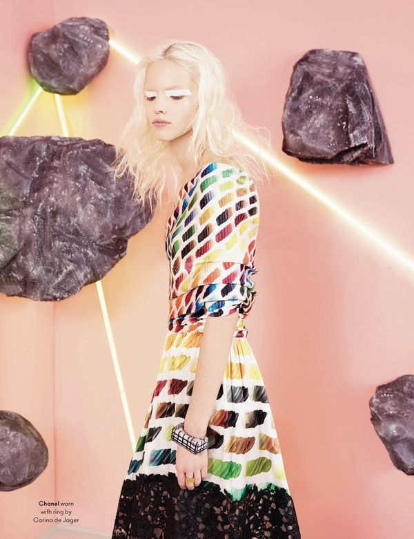 Sophisticated Outer Space Editorials