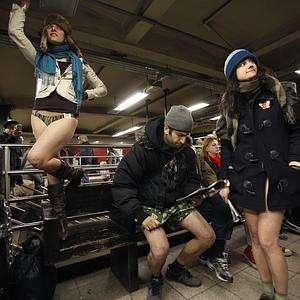 Pants-Free Flash Mobs