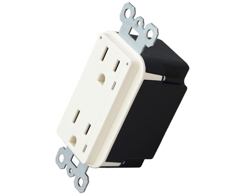 Hardwired Smart Outlets : in wall outlet