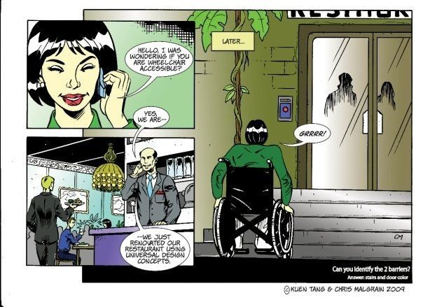 Inclusion-Focused Comic Books