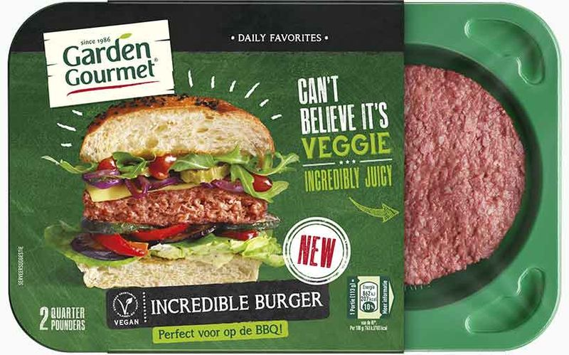 Incredible Burger Garden Gourmet