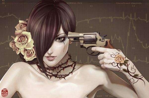 Dangerous Tattooed Illustrations