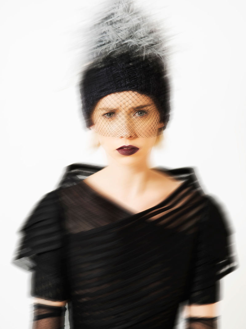 Blurred Couture Portraits