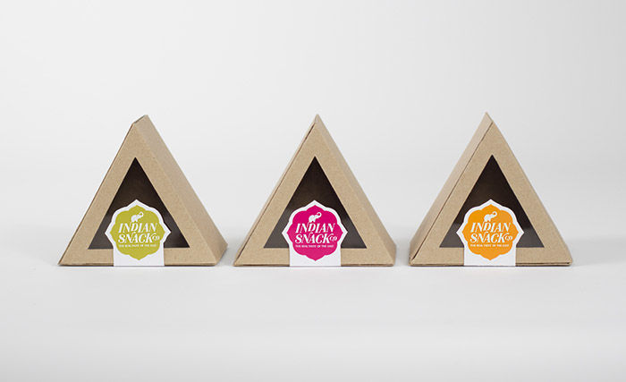 Triangular Boxed Branding