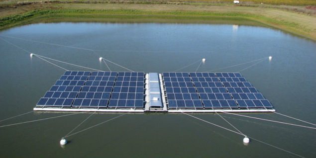 Floating Solar Farms