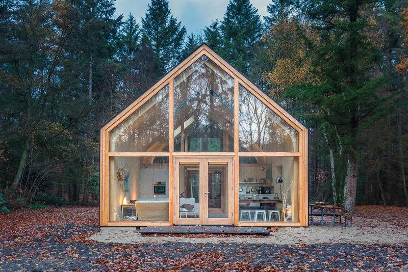 Eco-Friendly Wood-Clad Cabins