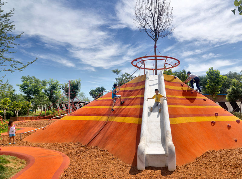 Outdoor Multi-Age Playgrounds