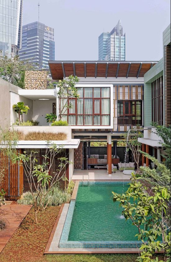 Modern Indonesian Homes Indonesian Home