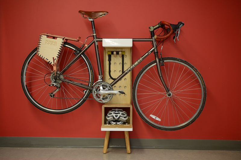 Free-Standing Bike Storage : indoor bicycle storage