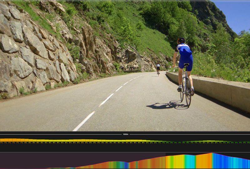Virtual Bike Race Technology