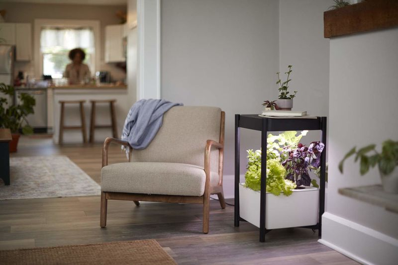 Garden-Growing Side Tables