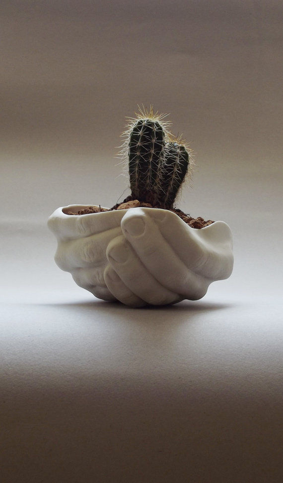 Quirky Hand-Held Planters