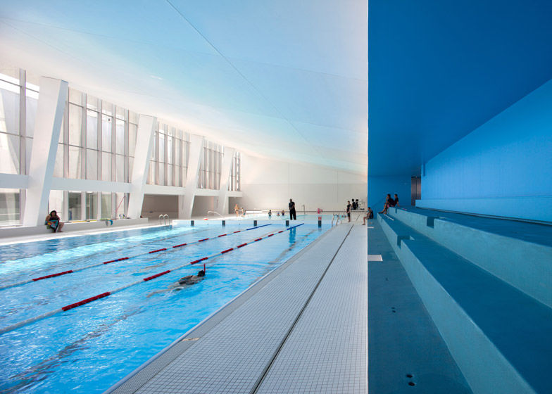 Modern Indoor Swimming