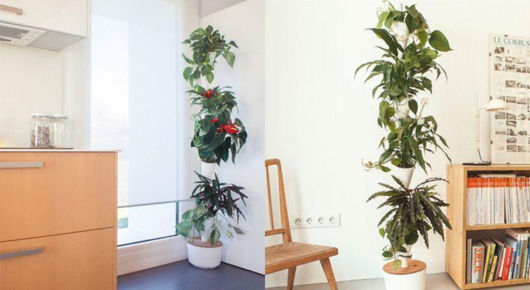 Modular Hydroponic Planters Indoor Vertical Garden
