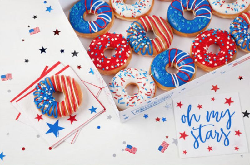 Patriotic Donut Packs
