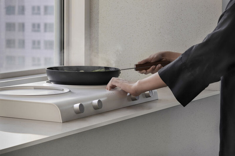 Tactile Blind Friendly Appliances Induction Stovetop