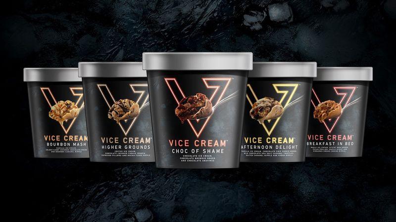 Neon-Branded Ice Creams