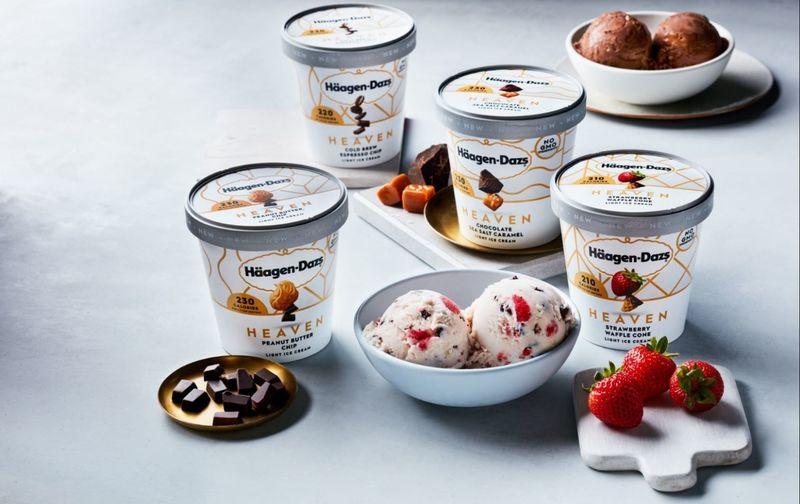 Indulgent Light Ice Creams