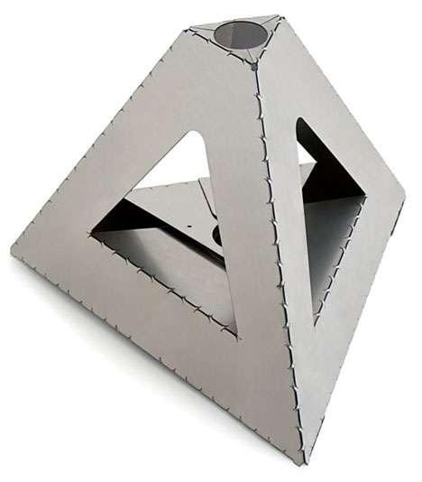 diy folding metal industrial origami