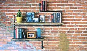 Industrial Pipe Bookshelves