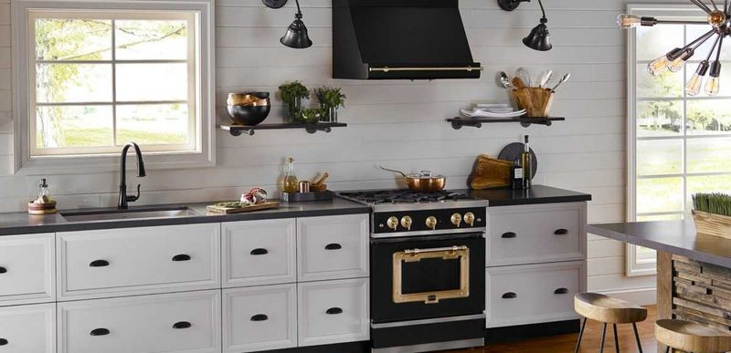 Industrial Styled Kitchen Appliances