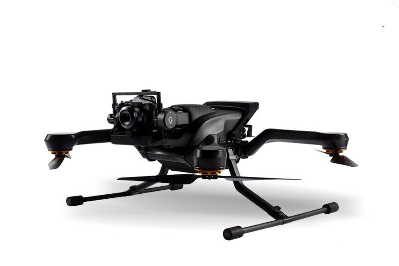 Unobstructed Camera Drones